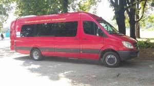 Автобус под наем Мерцедес Спринтер 515